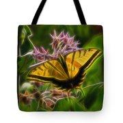 Tiger Swallowtail Digital Art Tote Bag