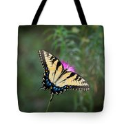 Tiger Swallowtail I Believe Tote Bag