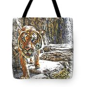 Tiger View Tote Bag