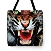 Tiger Watercolour Tote Bag