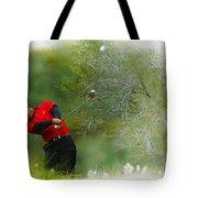 Tiger Woods - The Chevron World Challenge Tote Bag