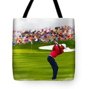 Tiger Woods - The Waste Management Phoenix Open  Tote Bag