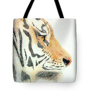 Tiger's Head Tote Bag