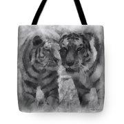 Tigers Photo Art 01 Tote Bag