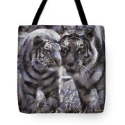 Tigers Photo Art 02 Tote Bag