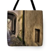 Tight Alley With Arch Tote Bag