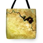 Tigris River Iraq Tote Bag by Phill Petrovic
