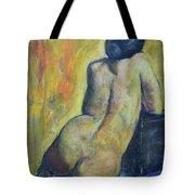 Tiina - Back Of Nude Woman Tote Bag