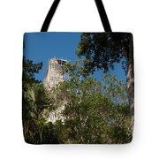 Tikal Pyramid 4a Tote Bag