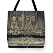 Tiki Room Adventureland Disneyland Tote Bag