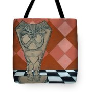Tiki Statue Art Tote Bag
