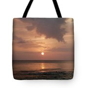 Tiki Sunset 2 Tote Bag