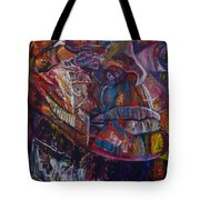 Tikor Woman Tote Bag by Peggy  Blood