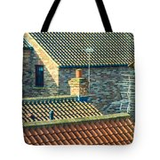 Tile Roofs - Thirsk England Tote Bag