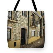 Tile Walls Of Lisbon Tote Bag