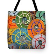 Tiled Swirls Tote Bag