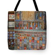 Tilework At The Castle Tote Bag