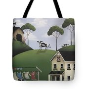 Till The Cows Come Home Tote Bag by Catherine Holman