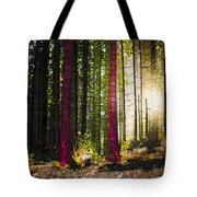 Till The Wood Tote Bag
