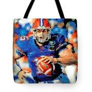 Tim Tebow Mr. Florida Gator Tote Bag