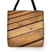 Timber Decking Tote Bag