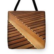 Timber Slats Tote Bag