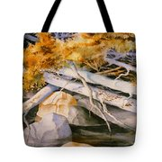 Timber Tumble Tote Bag
