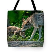 Timber Wolf Pictures 332 Tote Bag