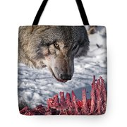 Timber Wolf Pictures 552 Tote Bag