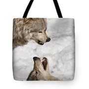 Timber Wolf Pictures 775 Tote Bag