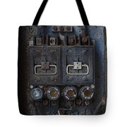 Time Delay Tote Bag