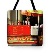 Time For A Lucky Dog Tote Bag
