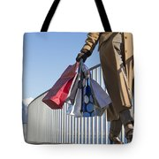 Time For Shopping Tote Bag