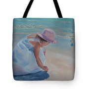 Time For Treasures Tote Bag by Holly Kallie