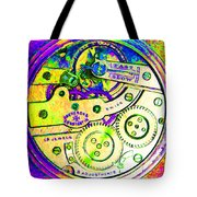 Time In Abstract 20130605m144 Square Tote Bag