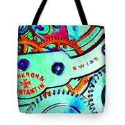 Time In Abstract 20130605m36 Long Tote Bag