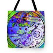 Time In Abstract 20130605m36 Square Tote Bag