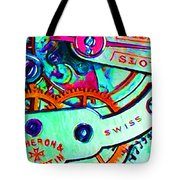 Time In Abstract 20130605m36 Tote Bag