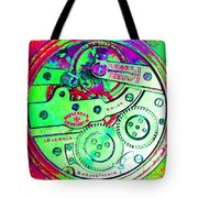 Time In Abstract 20130605m72 Square Tote Bag