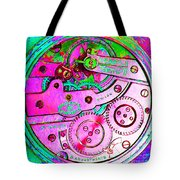 Time In Abstract 20130605p108 Square Tote Bag