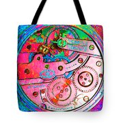 Time In Abstract 20130605p144 Square Tote Bag