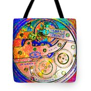 Time In Abstract 20130605p180 Square Tote Bag