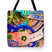 Time In Abstract 20130605p180 Tote Bag
