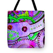 Time In Abstract 20130605p72 Long Tote Bag