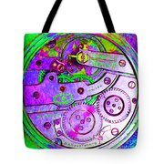 Time In Abstract 20130605p72 Square Tote Bag