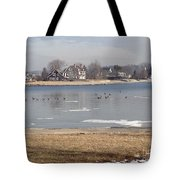 Time In New England Tote Bag