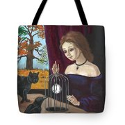 Time In The Cage Tote Bag