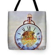 Time In The Sand Tote Bag