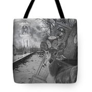 Time Is A Target Tote Bag