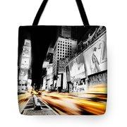 Time Lapse Square Tote Bag
